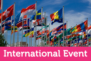 Read our guide to planning an international event